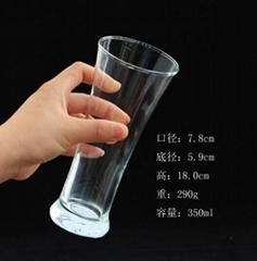 350 ml  Glass mug  ,shooter  glass