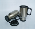 Stainless steel travel mug, sublimation coated,Car mug  2