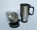 Stainless steel travel mug, sublimation coated,Car mug  4