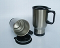 Stainless steel travel mug, sublimation coated,Car mug