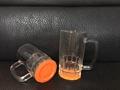 22oz  Sublimation glass mug with color