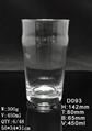 450 ml  Glass mug.juice mug