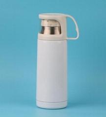 Transparent lid  Thermal mug