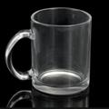 11oz Sublimation clear glass mug