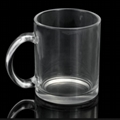 11oz Sublimation clear glass mug