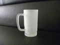 Sublimation Frosted beer stein