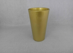 Sublimation Gold  pint glass