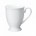 bone china mug with base