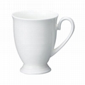 bone china mug with base
