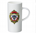pillar bone china mug