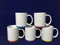 Sublimation  Mug with color band