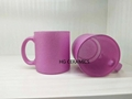 Purple Shining Powder Glass Mug