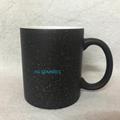 Starry Sky Black color change mug