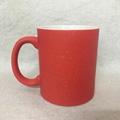 Starry Sky Red  color change mug