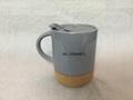 Ceramic Mug with Cork Bottom