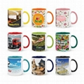 Sublimation Coated mugs