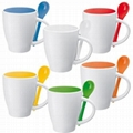 Ceramic  Spoon mug   1