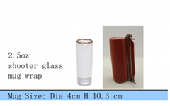 Shooter glass wrap