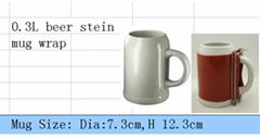 ceramic beer stein wrap