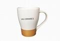 Metallic Band Coffee Mug - 14 oz.