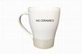 Metallic Band Coffee Mug - 14 oz. 2