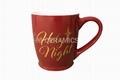 Gold color decal printing  mug