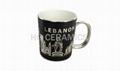 Ceramic Metallic Mug, Electroplate Mug,