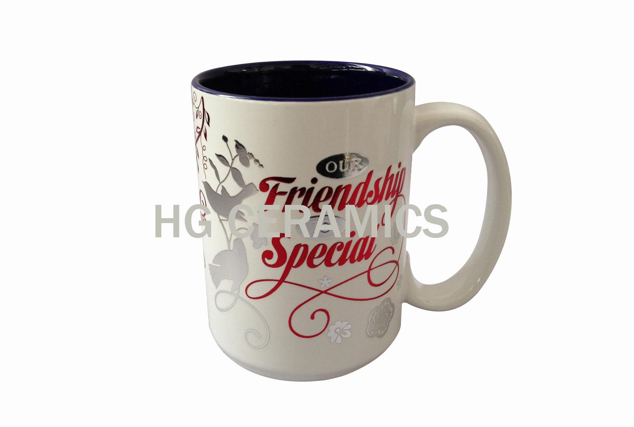 15oz Foil printing mug