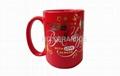 15oz Red Foil printing mug