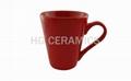 Red Latte Mug