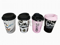 Double wall PP cup,12oz