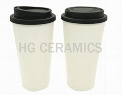Double wall PP cup, 16oz