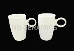Ring handle mug , 12oz mug