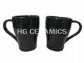Embossed mug ,15oz