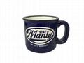 Etched camp mug