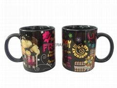 Foil printing mug