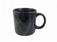 20oz  black color mug