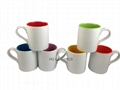 11oz 2 tone mug, ear handle
