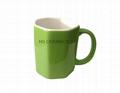 Octagon shape mug  5
