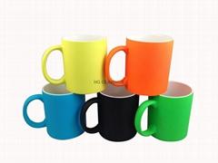 11oz Neon color mug