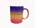 rainbow color mug