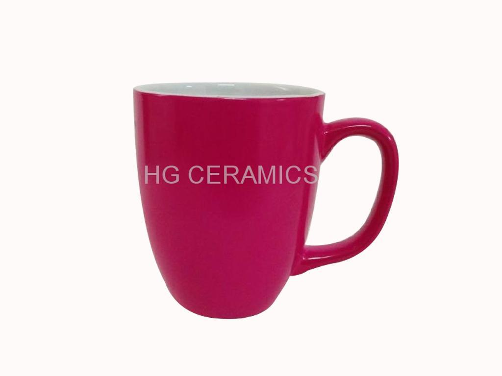 Magenta color mug  1
