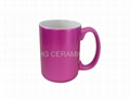 15oz    pearl finish   mug
