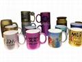 metalic color mugs,Pearl finished  mug