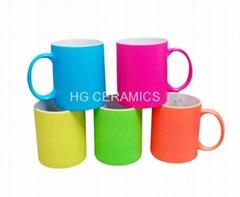 11oz Fluorescent  mug