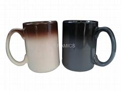 Gradual change mug