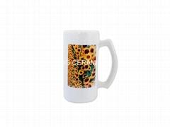 16oz Ceramic Beer stein mug