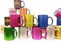 11oz  metalic color mugs