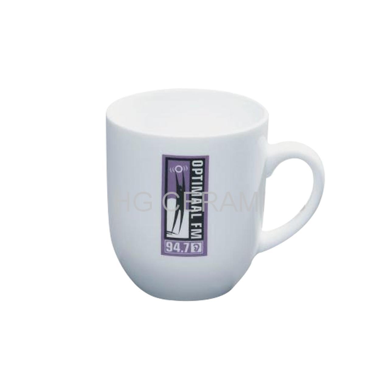 snow white porcelain mug 1