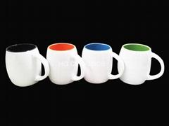 Barrel mugs,14oz